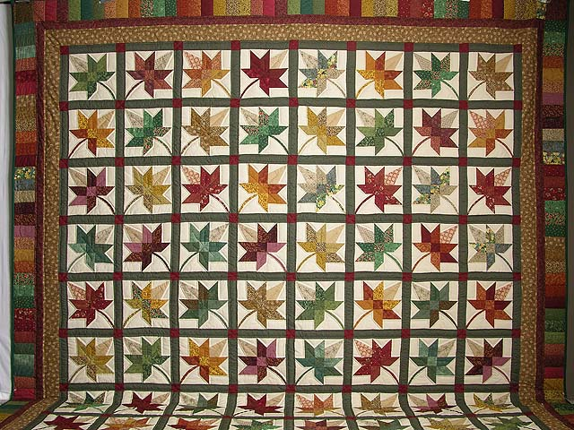 King Autumn Splendor Quilt Photo 2