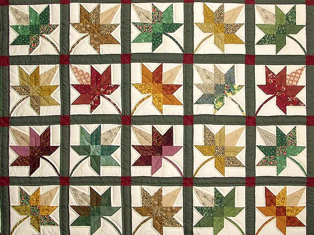 King Autumn Splendor Quilt Photo 3