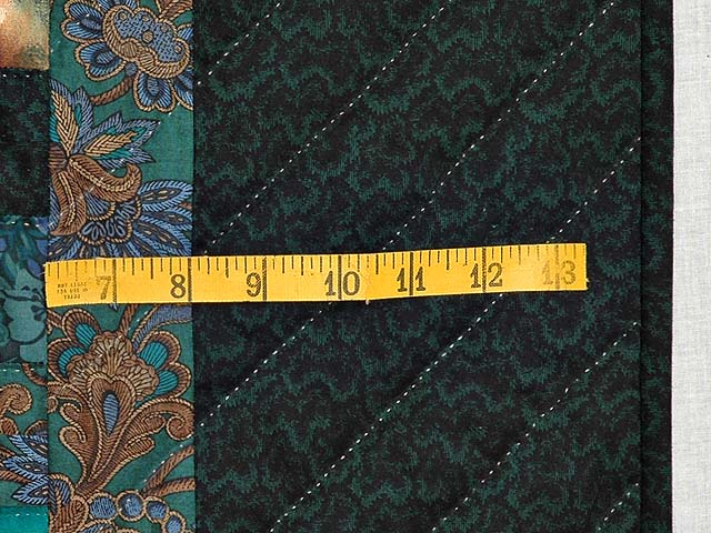 Teals and Tans Weavers Fever Quilt Photo 6