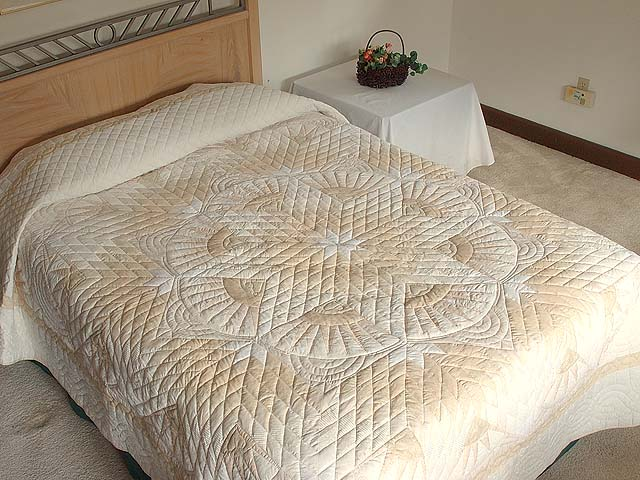 All Neutrals Cathedral Star Quilt Photo 1