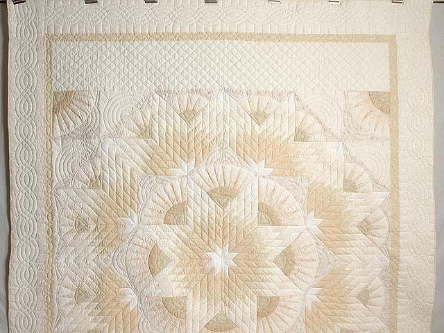 All Neutrals Cathedral Star Quilt Photo 2