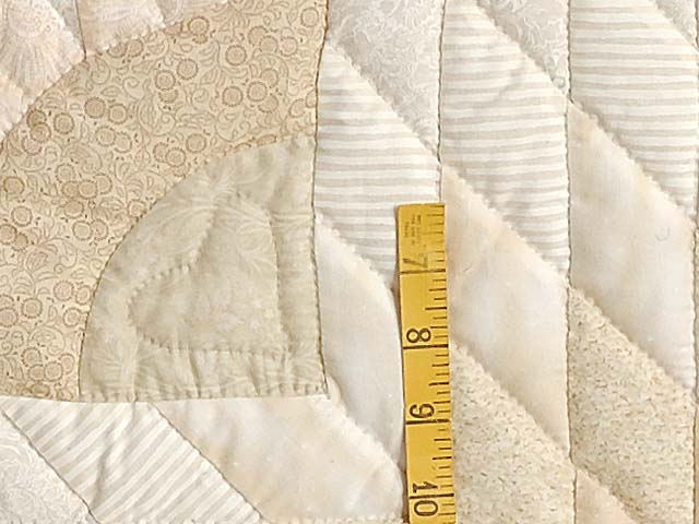 All Neutrals Cathedral Star Quilt Photo 5