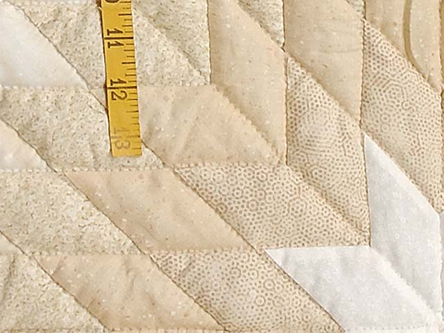 All Neutrals Cathedral Star Quilt Photo 6