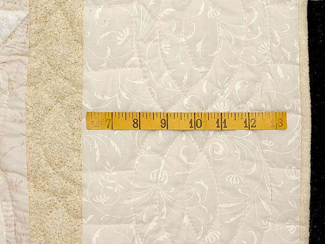 All Neutrals Cathedral Star Quilt Photo 7
