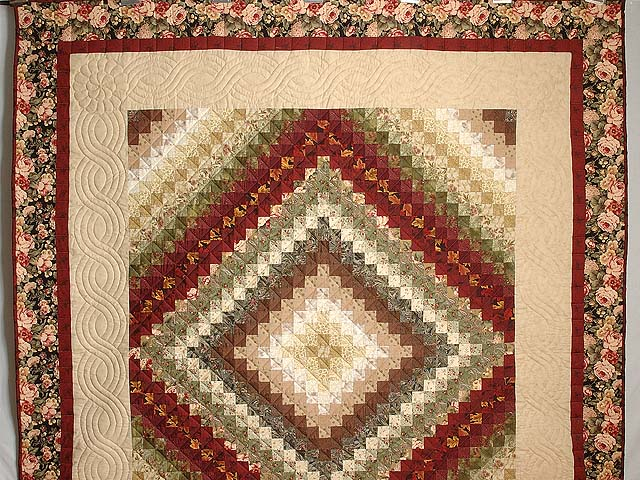 Earth Tones Trip Around the World Quilt Photo 2