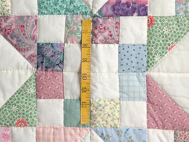 Pastel Jacobs Ladder Quilt Photo 5