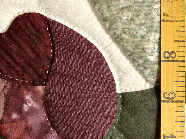Rust and Plum Spring Basket Quilt Photo 6