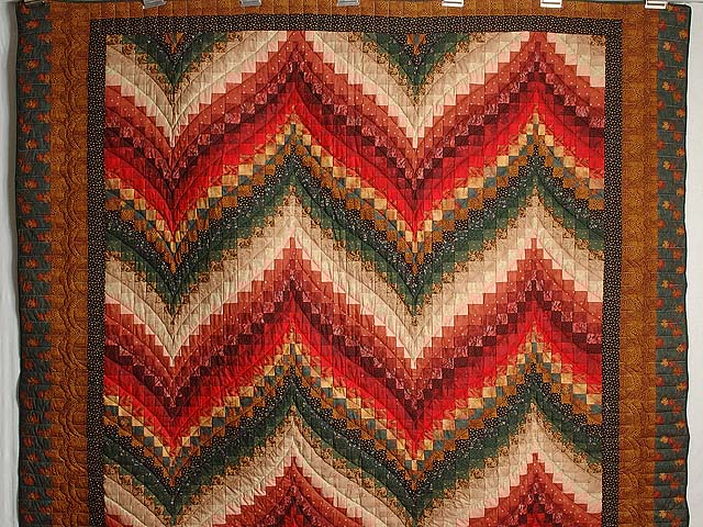 Autumn Leaves Bargello Quilt Photo 2