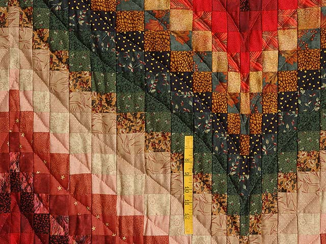 Autumn Leaves Bargello Quilt Photo 4