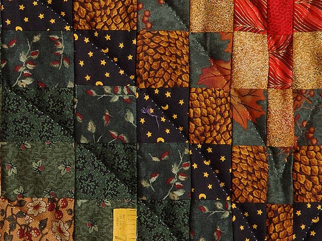 Autumn Leaves Bargello Quilt Photo 5