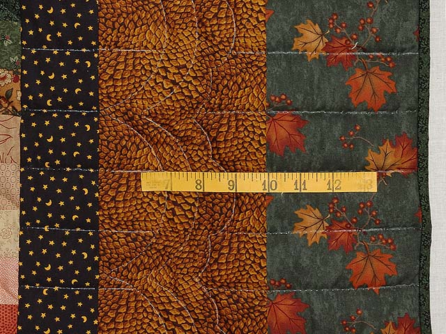 Autumn Leaves Bargello Quilt Photo 7