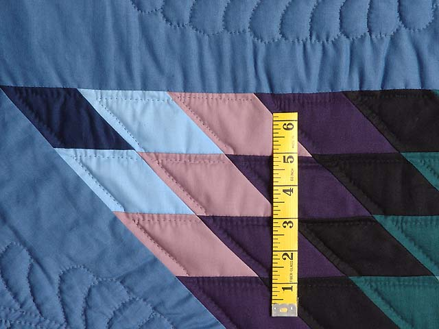 Amish Colonial Colors Lone Star Quilt Photo 6