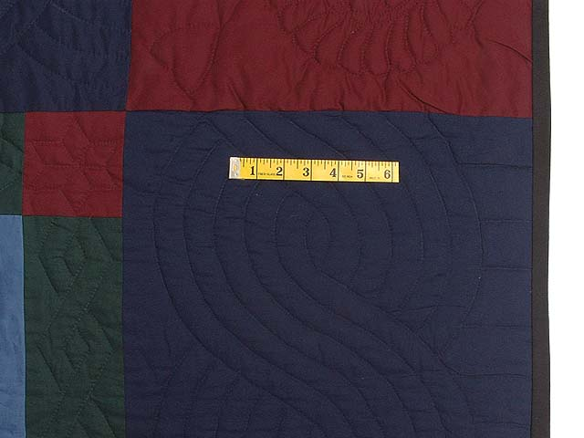 Amish Colonial Colors Lone Star Quilt Photo 7