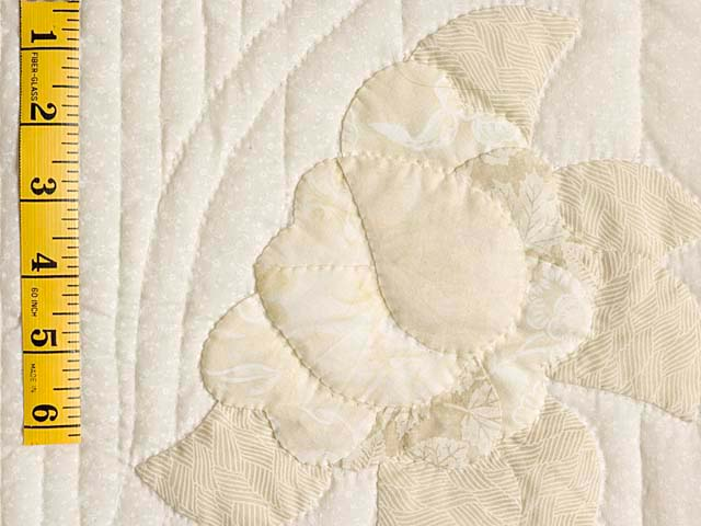 King Ivory and Maize Lancaster Treasures Quilt Photo 6