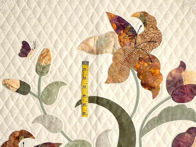 Neutrals and Autumn Gold Petal Showcase Quilt Photo 5
