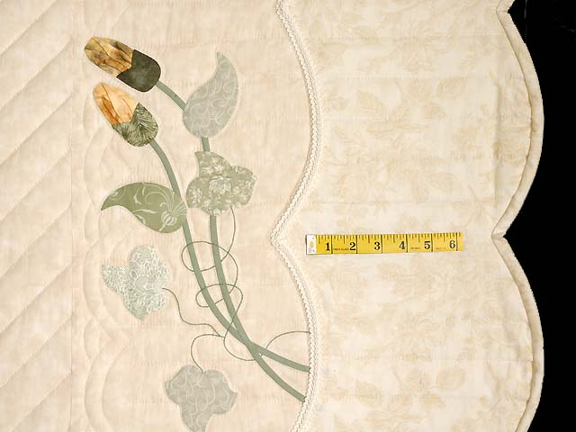 Neutrals and Autumn Gold Petal Showcase Quilt Photo 7