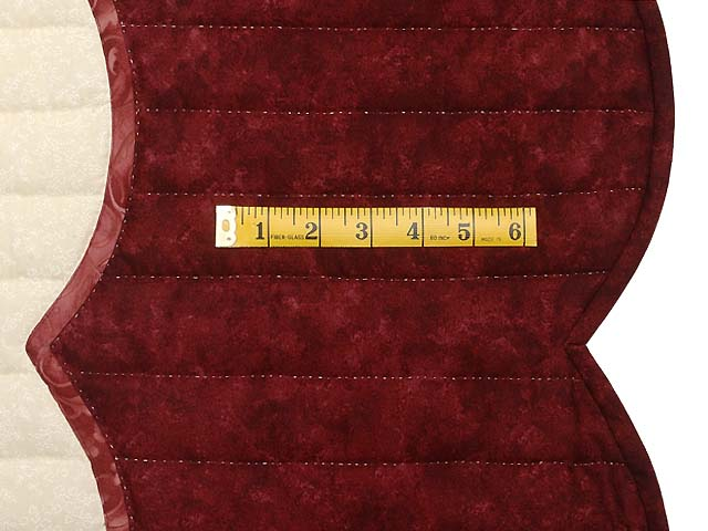 Burgundy and Rose Lancaster Treasures Quilt Photo 7