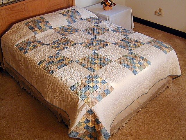 Soft 36 Patch Quilt Photo 1