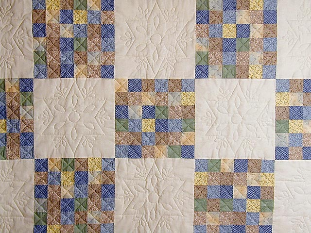 Soft 36 Patch Quilt Photo 3