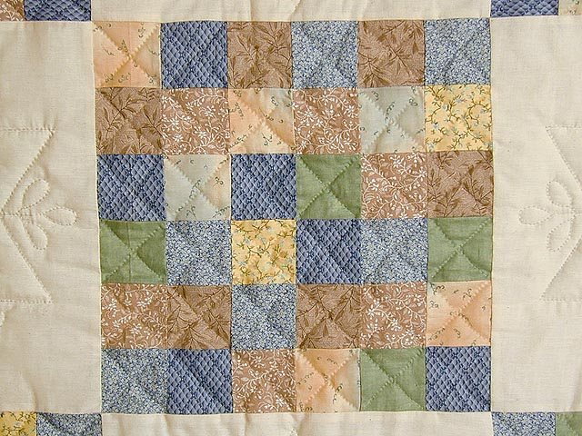Soft 36 Patch Quilt Photo 4