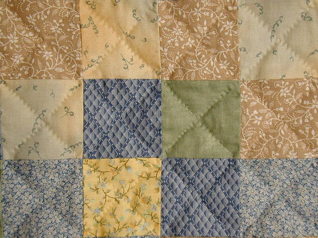 Soft 36 Patch Quilt Photo 6