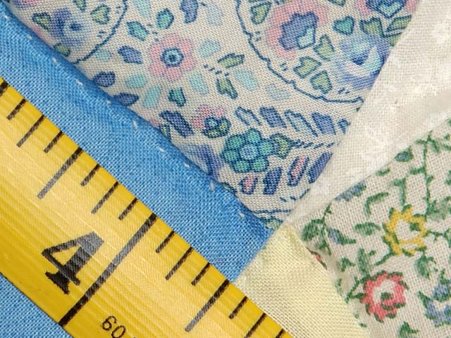 Pastel Double Wedding Ring Quilt Photo 8