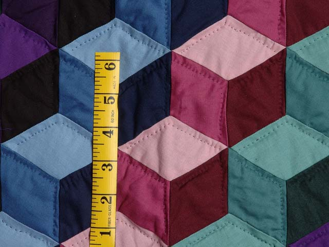Amish Tumbling Blocks Quilts Photo 5