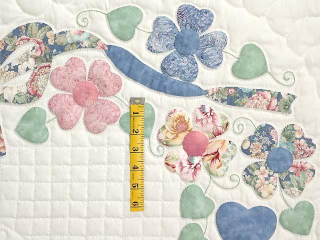 Pastel Hearts Bouquet Quilt Photo 5