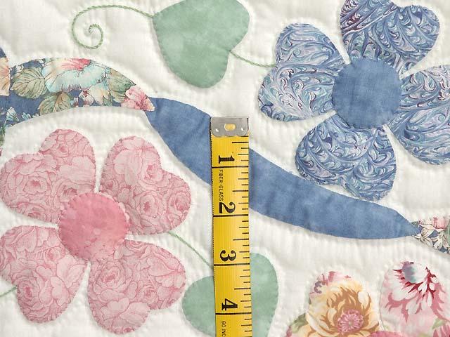 Pastel Hearts Bouquet Quilt Photo 6