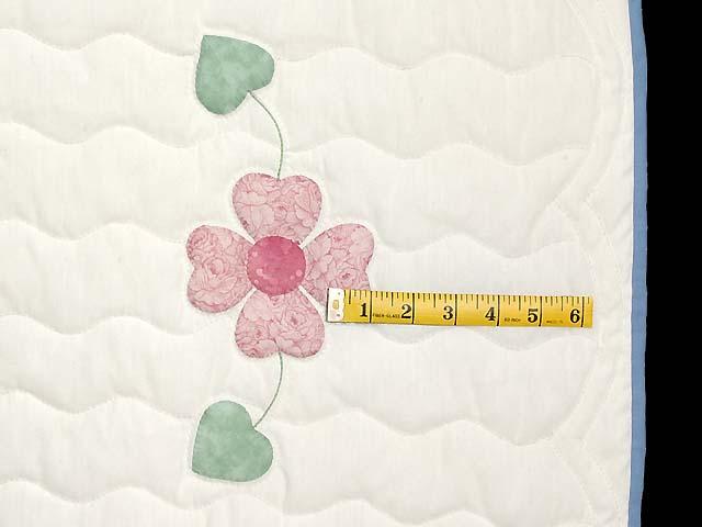 Pastel Hearts Bouquet Quilt Photo 7