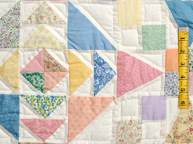 King Pastel Faceted Jewel Quilt Photo 5