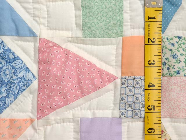 King Pastel Faceted Jewel Quilt Photo 6