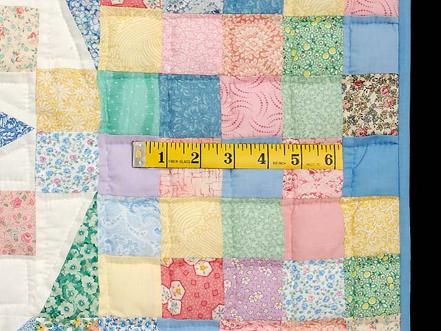 King Pastel Faceted Jewel Quilt Photo 7