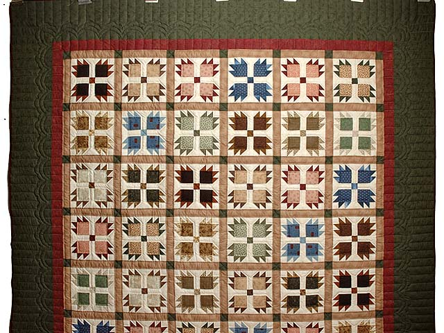 Amish Bear Paw Quilt Pattern Pictures To Pin On Pinterest