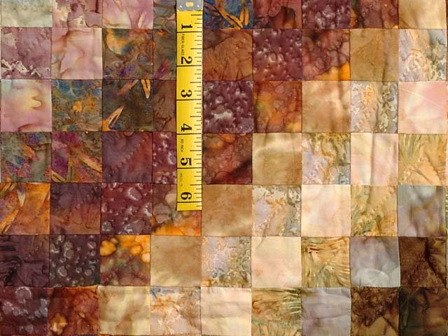 King Hand Painted Cocoa and Plum Color Splash Quilt Photo 5