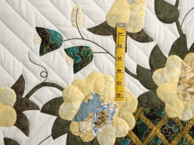 Yellow Rose of Texas Flower Basket Quilt Photo 5