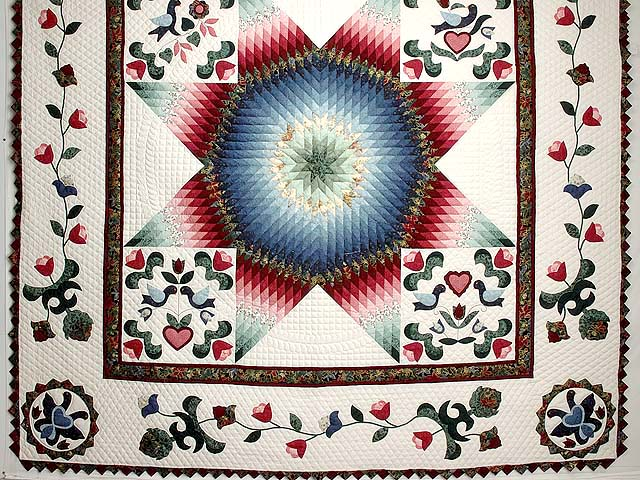 Pennsylvania Dutch Star Quilt Photo 3