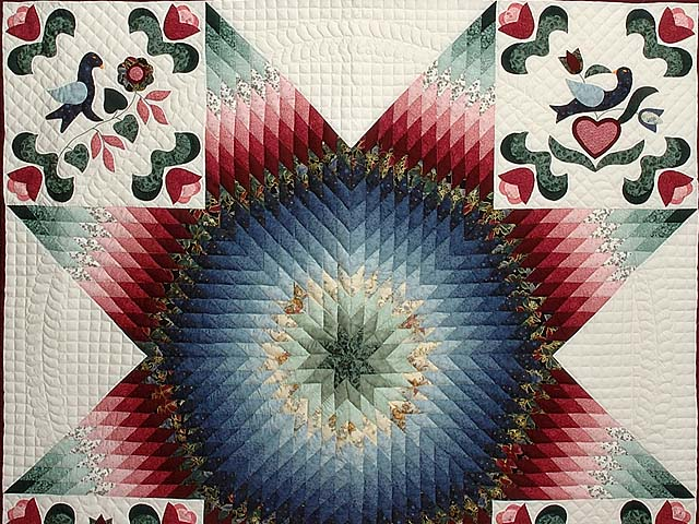 Pennsylvania Dutch Star Quilt Photo 4