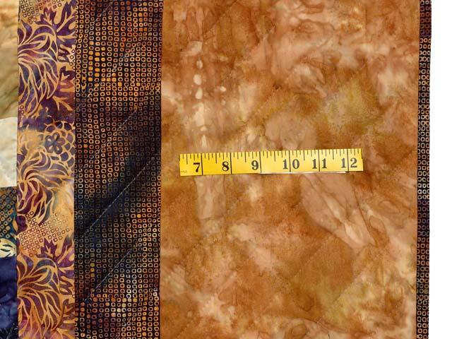 Hand Painted Diamond Bargello Quilt Photo 7