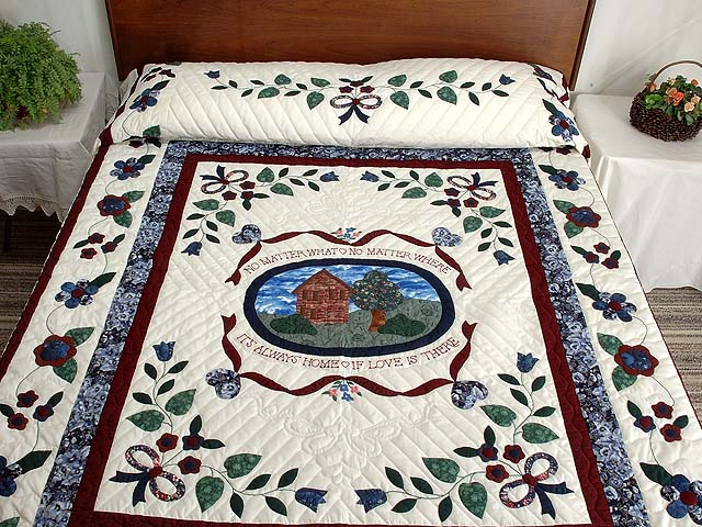 Home Sweet Home Applique Quilt Photo 1