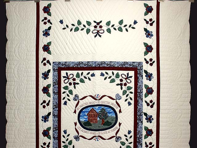 Home Sweet Home Applique Quilt Photo 2