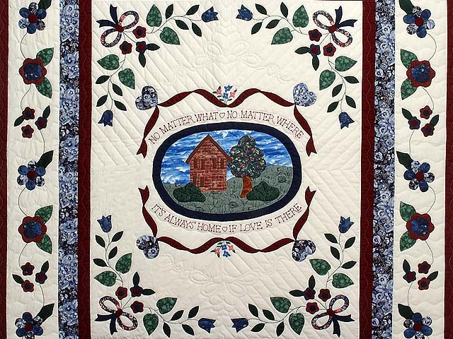 Home Sweet Home Applique Quilt Photo 3