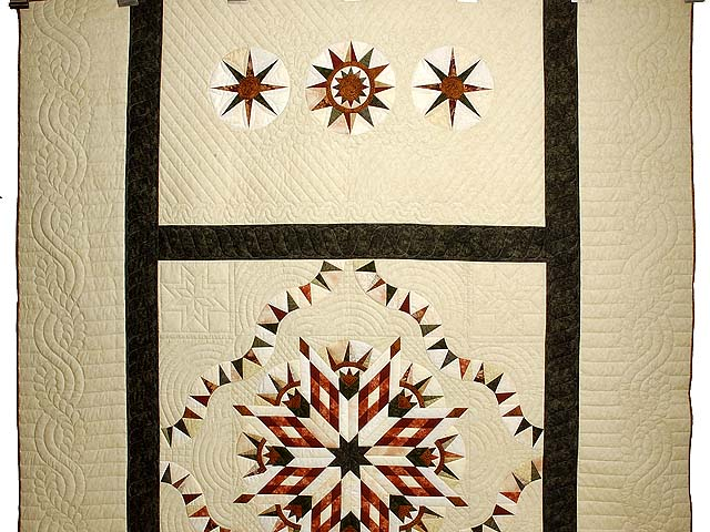 Sage Rust and Gold Sunday Quilt Photo 2