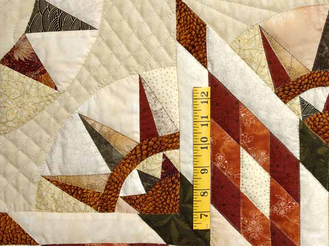 Sage Rust and Gold Sunday Quilt Photo 5