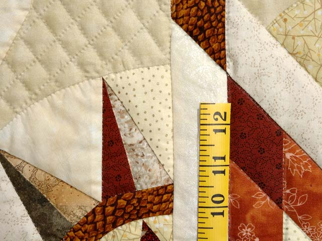 Sage Rust and Gold Sunday Quilt Photo 6