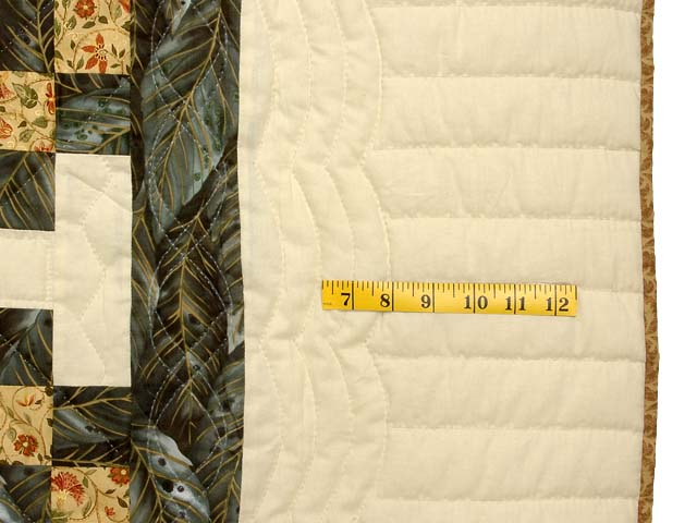 Marble and Gold Star Irish Chain Quilt Photo 7