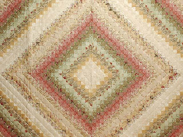 Wheat and Soft Pastels Color Splash Quilt Photo 3