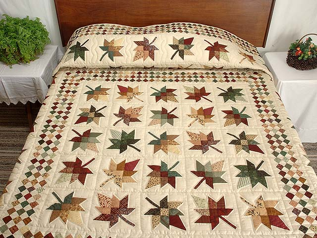 King Autumn Splendor in Commons Quilt Photo 1