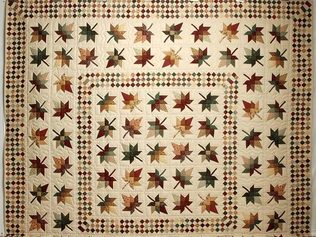 King Autumn Splendor in Commons Quilt Photo 2
