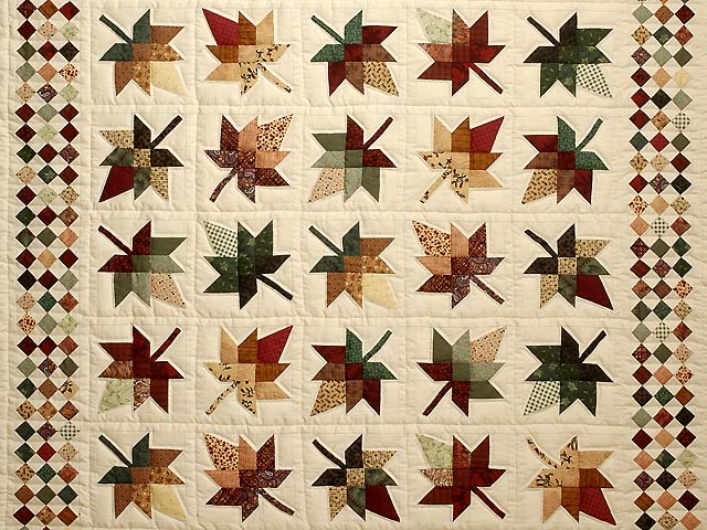 King Autumn Splendor in Commons Quilt Photo 3